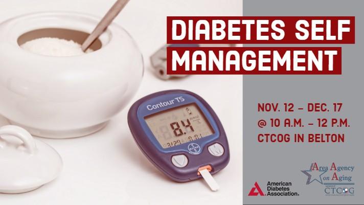 Diabetes Self Management Class Flyer