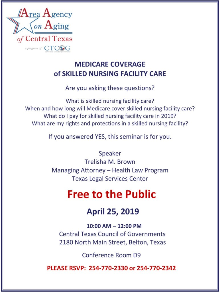 Medicare Coverage of Skilled Nursing Facility Care
