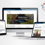 New website launch responsive devices