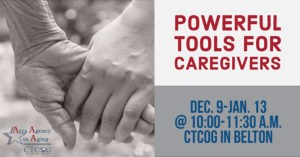 Powerful Tools for Caregivers December flyer