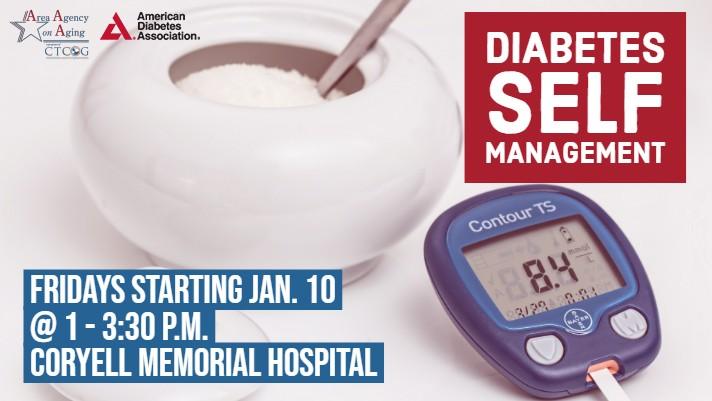 Diabetes Management Friday Coryell Class Flyer