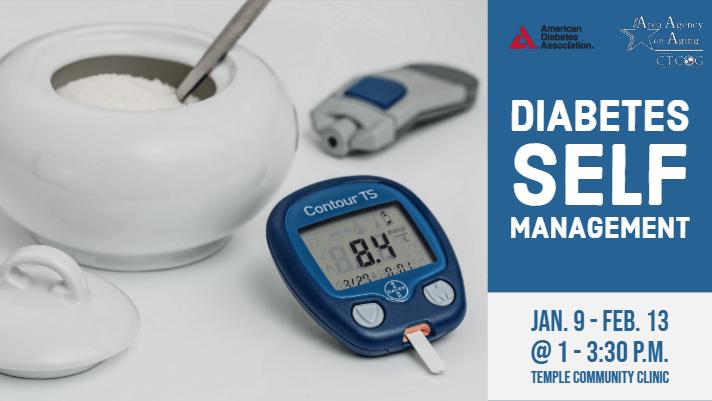 Diabetes Management Temple Jan Class Flyer