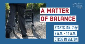 A Matter of Balance CTCOG Class Flyer