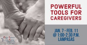 Lampasas Powerful Tools for Caregivers Class Flyer