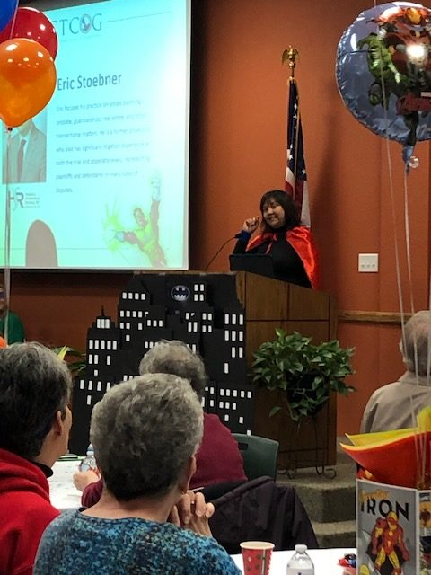 Theresa Mireles at Third Annual Caregiver event