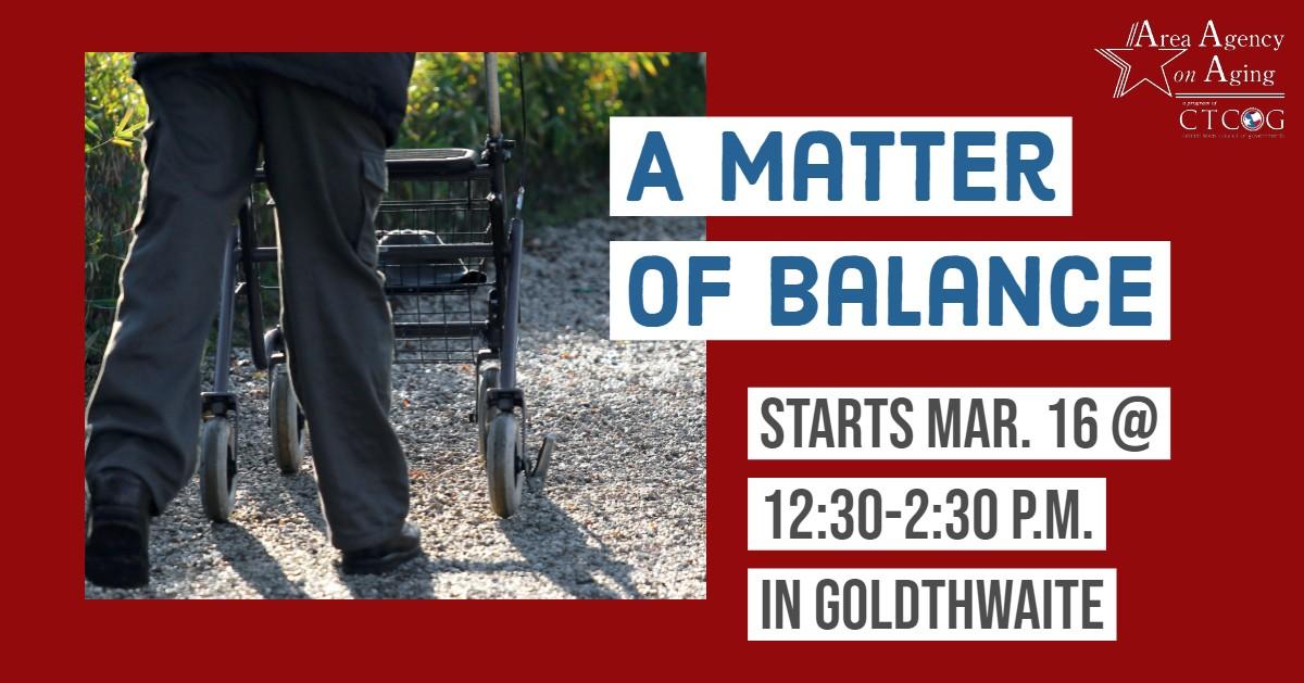 Goldthwaite Balance Class Flyer