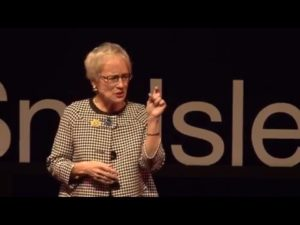 Caring for the caregivers with Frances Lewis talking at TEDxSnoIsleLibraries event