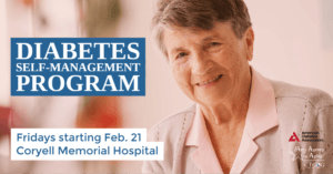 Coryell Memorial Hospital Diabetes Management Flyer