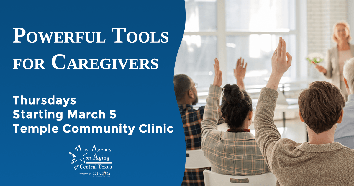 Powerful Tools for Caregivers Temple class flyer