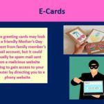 mother's day scams e-cards