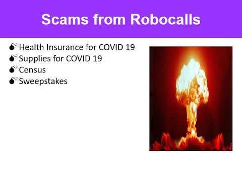 scam of the week robocalls