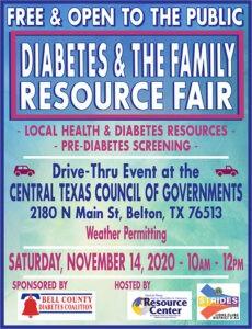 Diabetes Fair poster 2020
