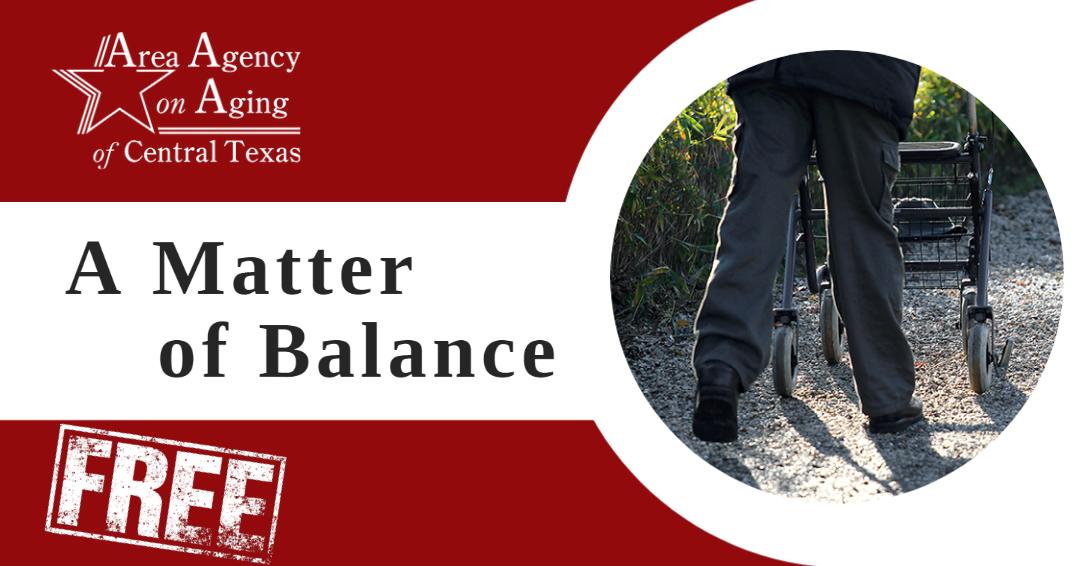 A Matter of Balance Gatesville class flyer
