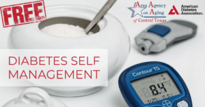diabetes self management class flyer