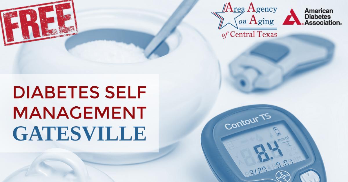 Diabetes Management Gatesville class flyer