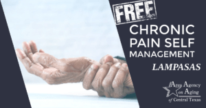 chronic pain self management class flyer lampasas